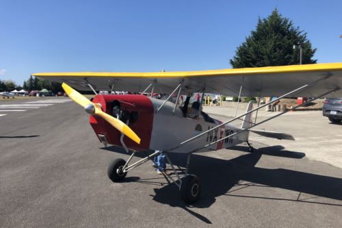 Red Yellow Plane